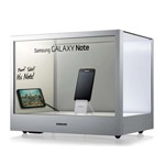 IFA 2012: Samsung präsentiert transparentes Display