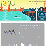 SF Launcher: Homescreen im Google Now-Look