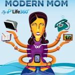 Nicht ohne mein Smartphone: Das Lieblingsaccessoire moderner Mütter (und Väter)