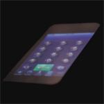Touchscreen mit fühlbaren Knöpfen