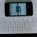 Beschleunigungssensoren machen jede Oberfläche zur virtuellen Tastatur