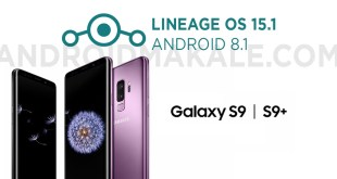 Samsung Galaxy S9 ve S9+ Android 8.1 Lineage OS 15.1 Yükleme
