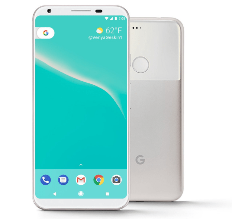 New batch of Google Pixel 2 renders and a video arrive