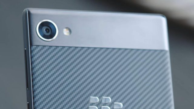 BlackBerry Motion camera review