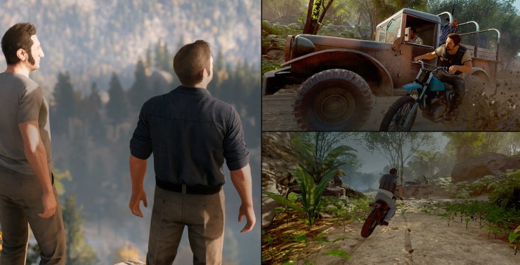 A picture showcasing the gameplay of A Way Out