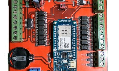ExControl Shield for Arduino home automation