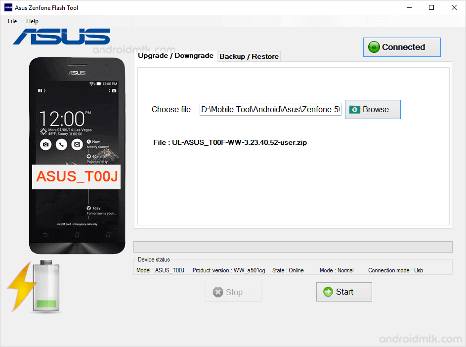 asus zenphone flash tool added