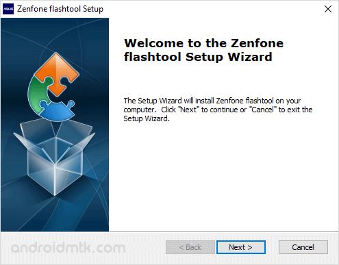 asus zenphone flash tool setup