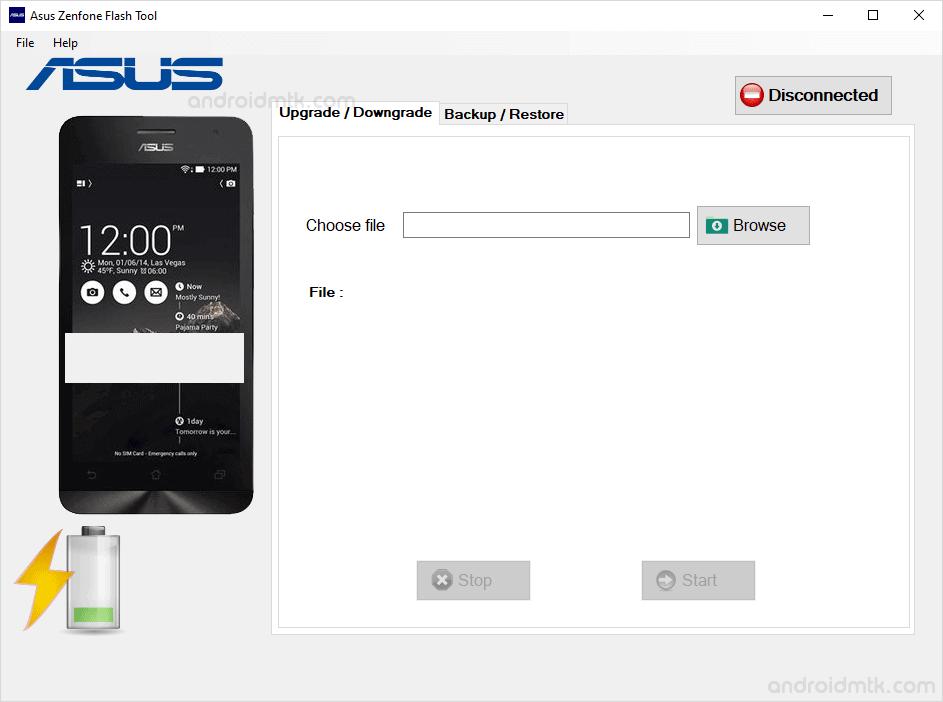 asus zenphone flash tool