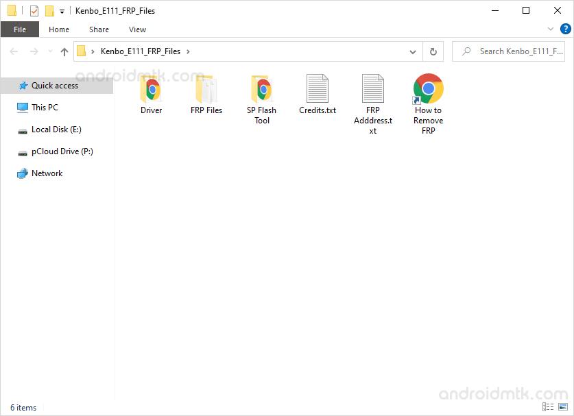 Kenbo E111 FRP Files