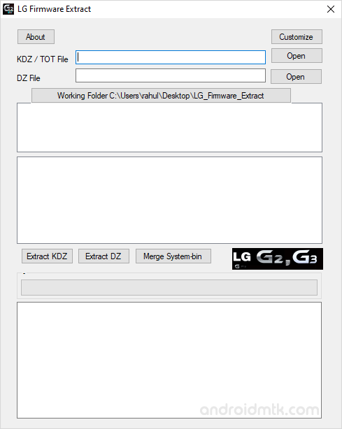 LG Firmware Extract Tool