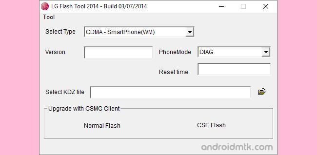 LG Flash Tool