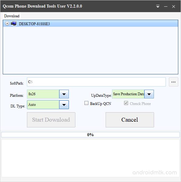 Qcom Phone Download Tool