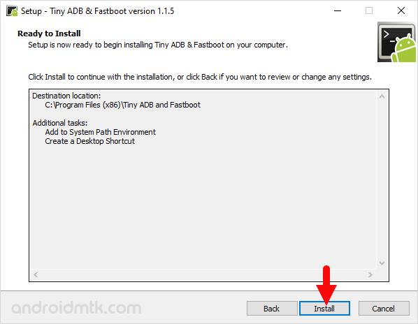 ADB and Fastboot Setup Install