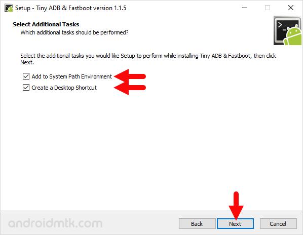 Tiny ADB & Fastboot Setup Tasks