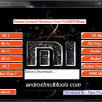 Xiaomi Mi Account Unlock Error Fix Tools Latest 2019 Free Download And Tutorial