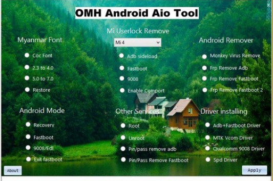OMH Android Aio Tool