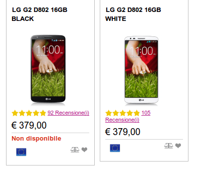LG G2 da 16GB