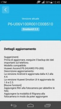 Ascend P6 B510 Beta