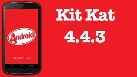 Android 4.4.3 KitKat Motorola Moto