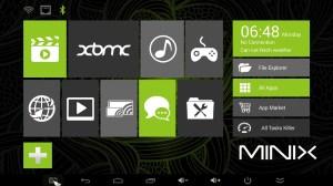 MINIX NEO X8 Metro Interface