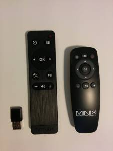 MINIX Neo M1 compared to NEO X8 Remote