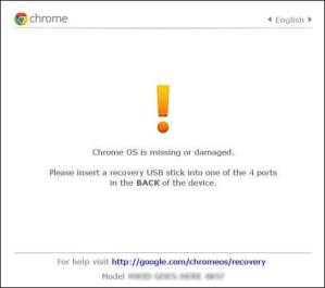 How to use the Chrome OS Recovery Utility