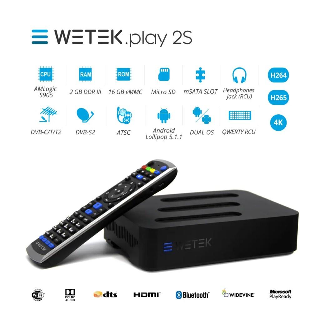WeTek Play 2S Specs