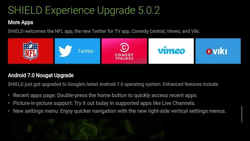 New apps on NVIDIA Shield TV