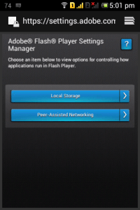 Flash Player Android