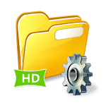 File Manager HD Logo - Android Picks