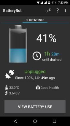 BatteryBot - Battery Indicator Screenshot - Android Picks (1)