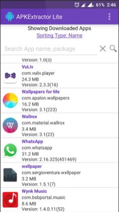 APKExtractor Lite Screenshot (3) - Android Picks