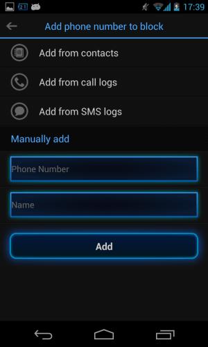 Iobit Advanced Mobile Care Call blocking