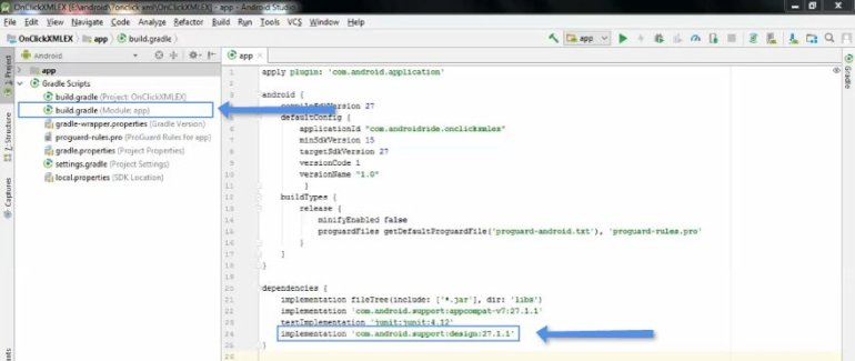 build.gradle - how to add support library in android studio -androidride.com