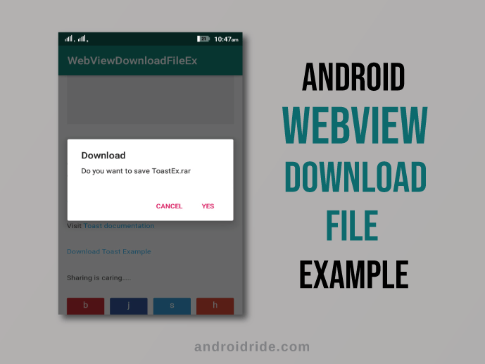 android webview download file example