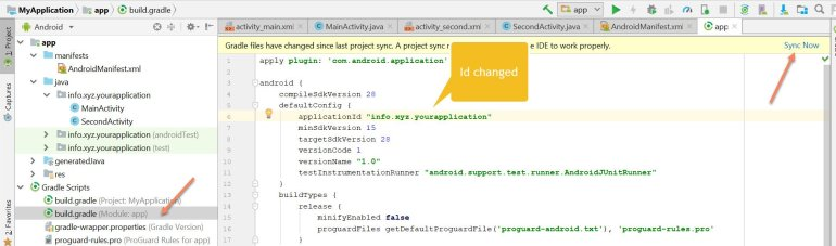 3 Methods To Change Or Rename Android App Package Name in Android