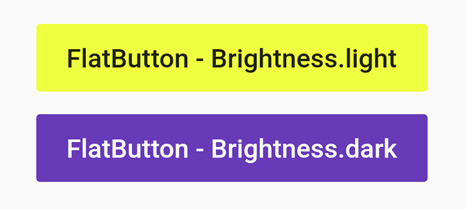 flatbutton brightness example