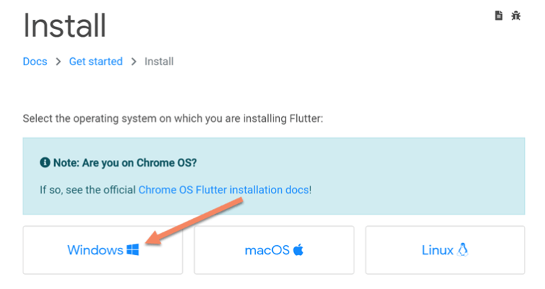 how to install flutter in android studio in windows
