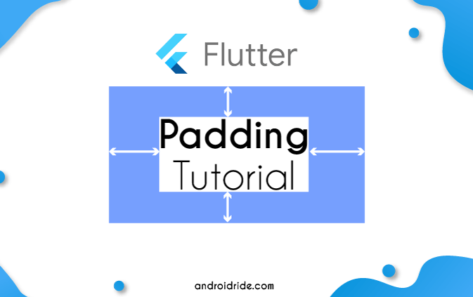 flutter padding widget example tutorial