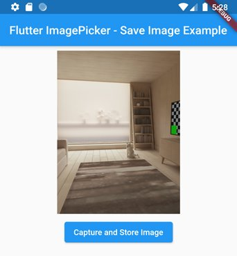 image_picker flutter camera take picture
