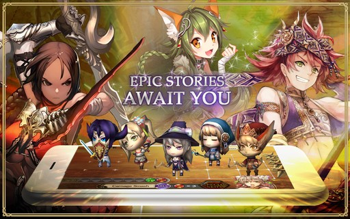 Captura de Chain Chronicle PAra Android