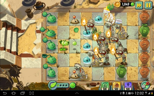 Captura de Plants vs. Zombies 2 PAra Android