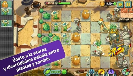 Plants vs. Zombies 2 Para Android - Captura