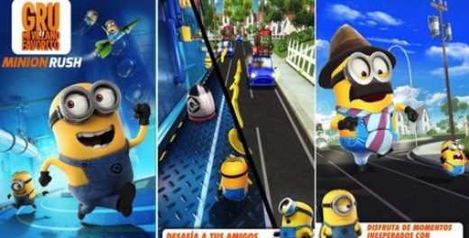 MI VILLANO FAVORITO: Minion Rush Para Android - Captura