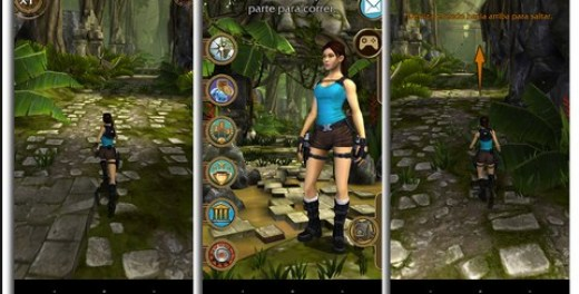 Screenshot De Lara Croft: Relic Run Para Android