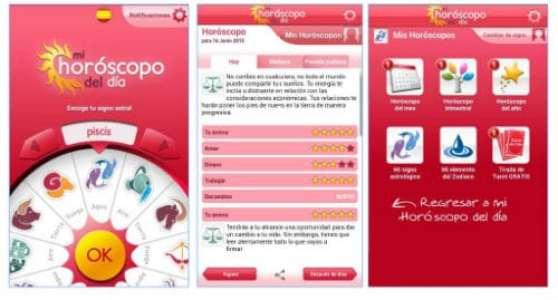 aplicaciones leer horoscopos