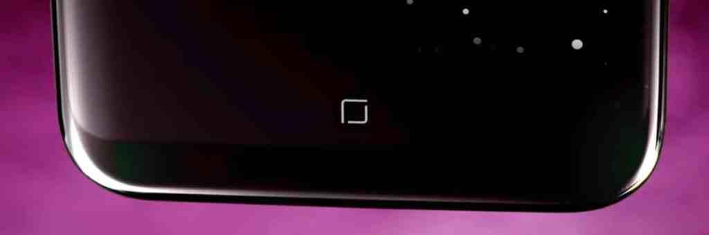 Botón Home del Samsung Galaxy S8