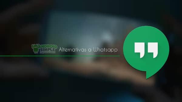 Hangouts alternativa Whatsapp