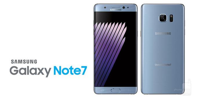Samsung suspende vendas e anuncia recall do Note 7